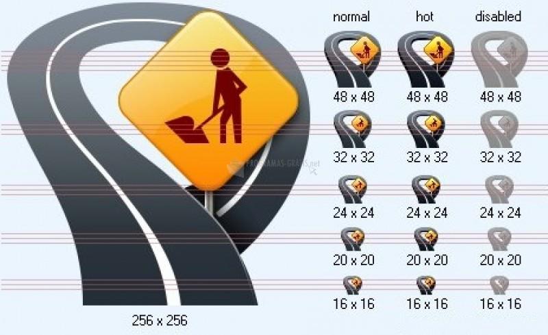 Pantallazo Standard Geo Icons