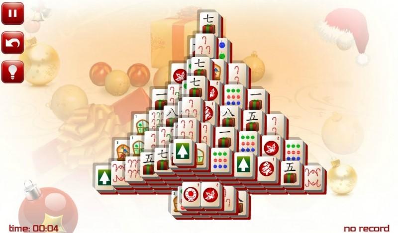 Pantallazo Tree Christmas Mahjong