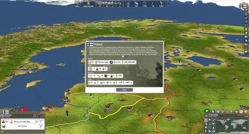 Pantallazo Making History II: The War of the World