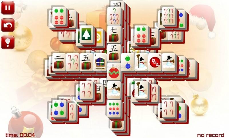 Pantallazo Christmas Star Mahjong