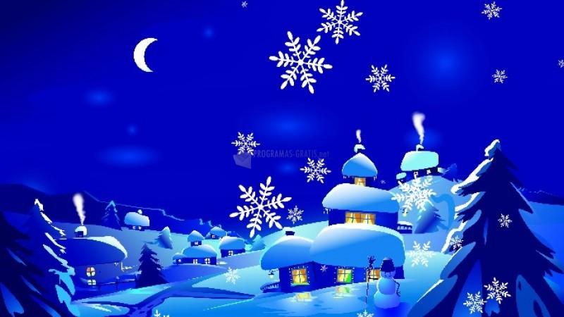 Pantallazo New Year Snowfall