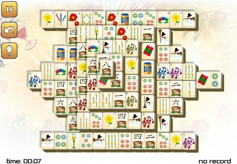 Pantallazo New Years Mahjong