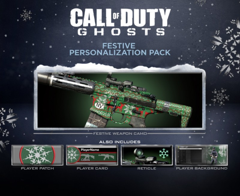 Pantallazo Call of Duty: Ghosts - Festive Pack