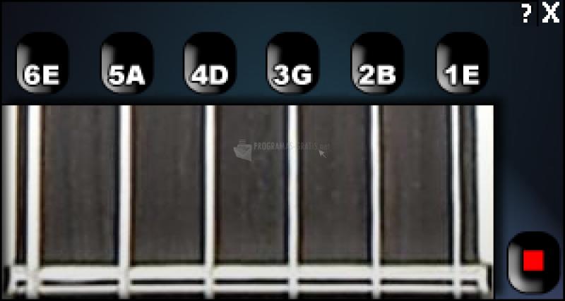 Pantallazo Guitar Tuner