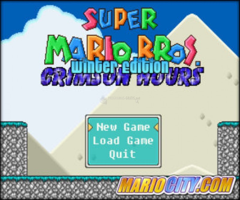 Pantallazo Super Mario Bros Crimson Winter