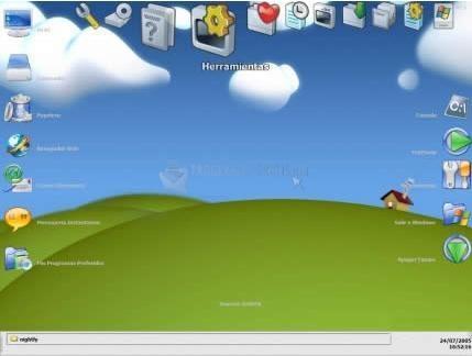 Pantallazo GoGuS Desktop Environment