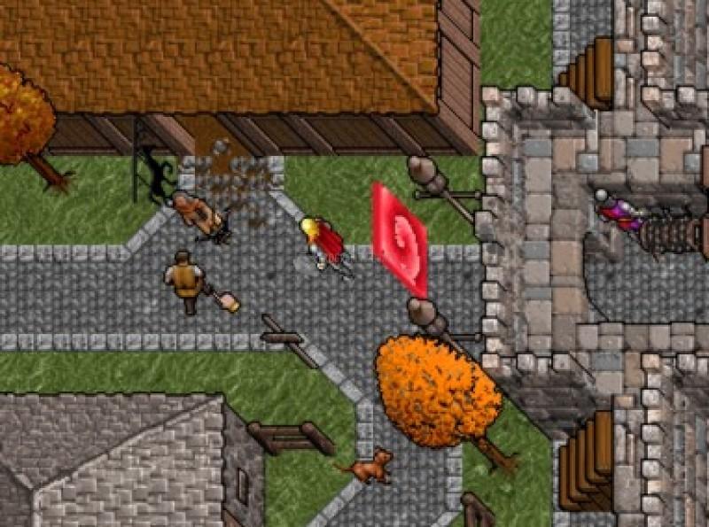 Pantallazo Ultima VII: The Black Gate