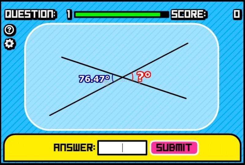 Pantallazo Geometry Quiz
