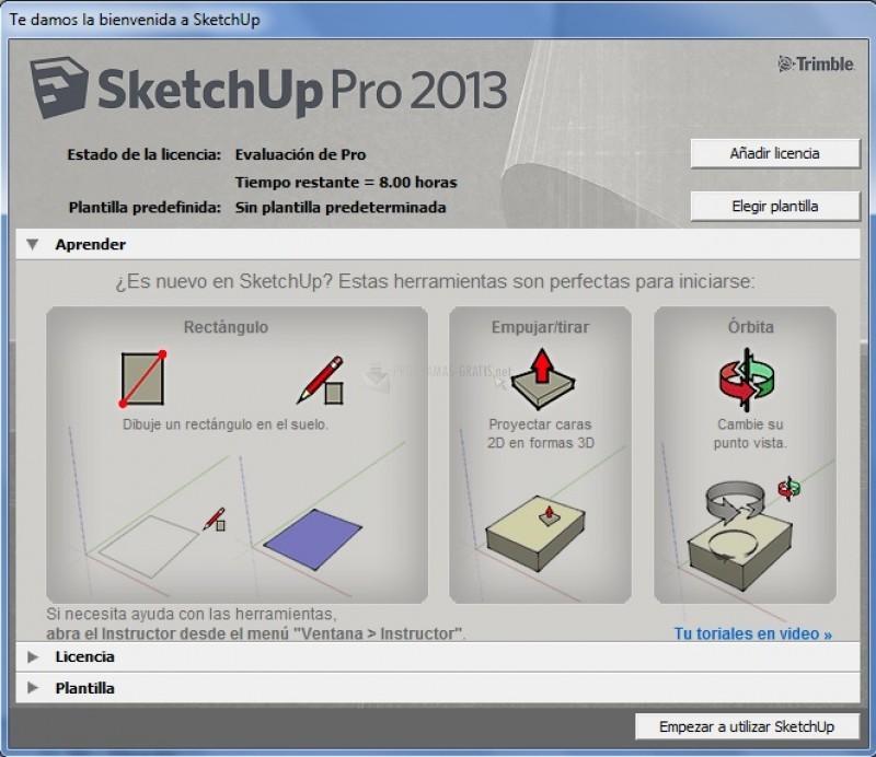 Pantallazo SketchUp Pro