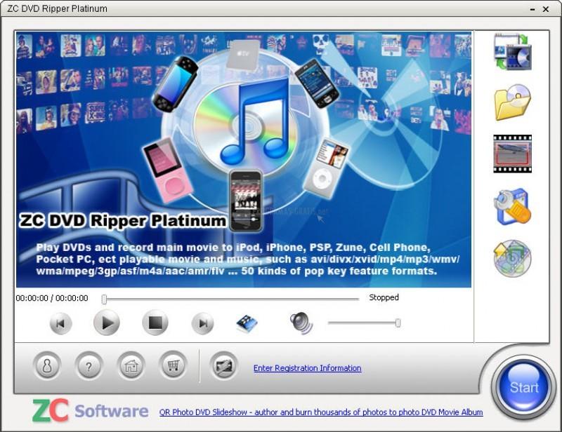 Pantallazo ZC DVD Audio Ripper