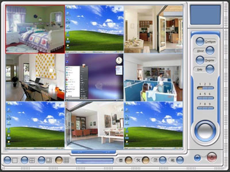 Pantallazo Multi Webcam Cast