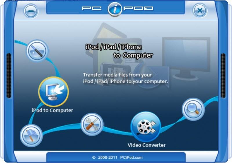 Pantallazo PC iPod