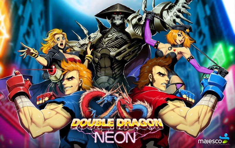 Pantallazo Double Dragon: Neon