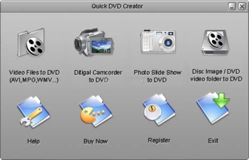 Pantallazo Quick DVD Creator