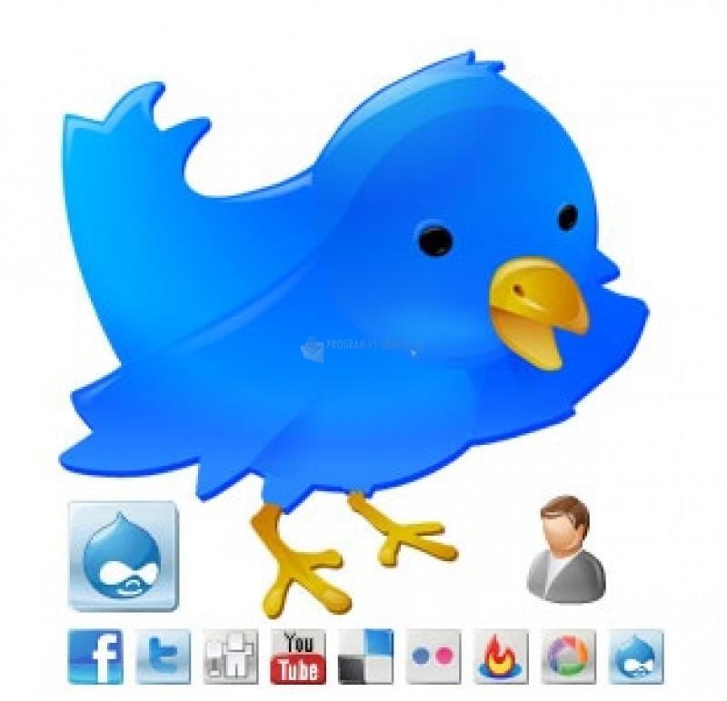 Pantallazo Social Web Buttons