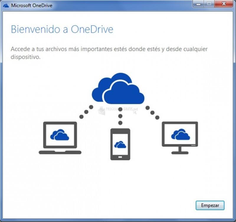 Pantallazo OneDrive