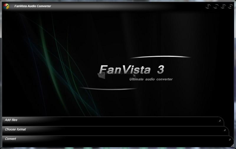 Pantallazo FanVista Audio Converter