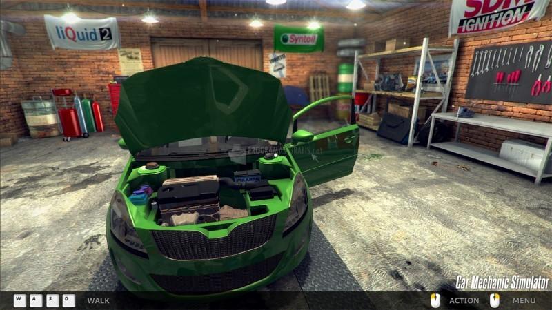 Pantallazo Car Mechanic Simulator 2014