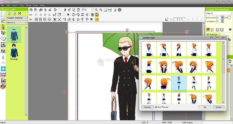 Pantallazo Manga Maker