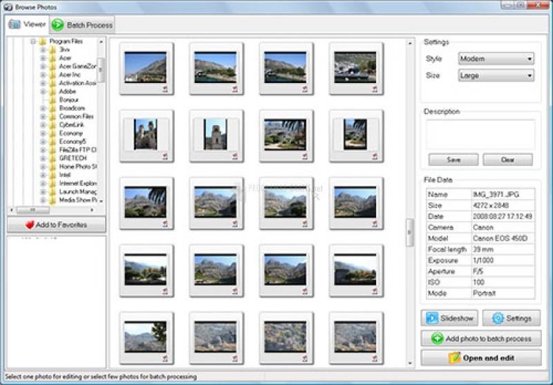 Pantallazo Home Photo Studio