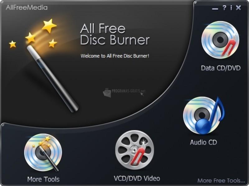 Pantallazo Free Disc Burner Platinum