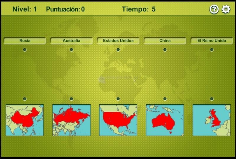 Pantallazo Cartografía de Mapas