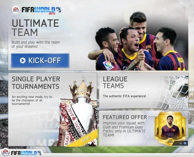 Pantallazo EA SPORTS FIFA World