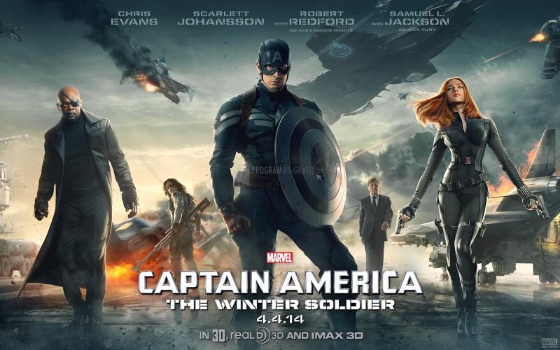 Pantallazo Capitán América: El soldado de invierno