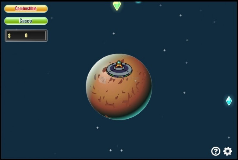 Pantallazo Explorador de la Galaxia