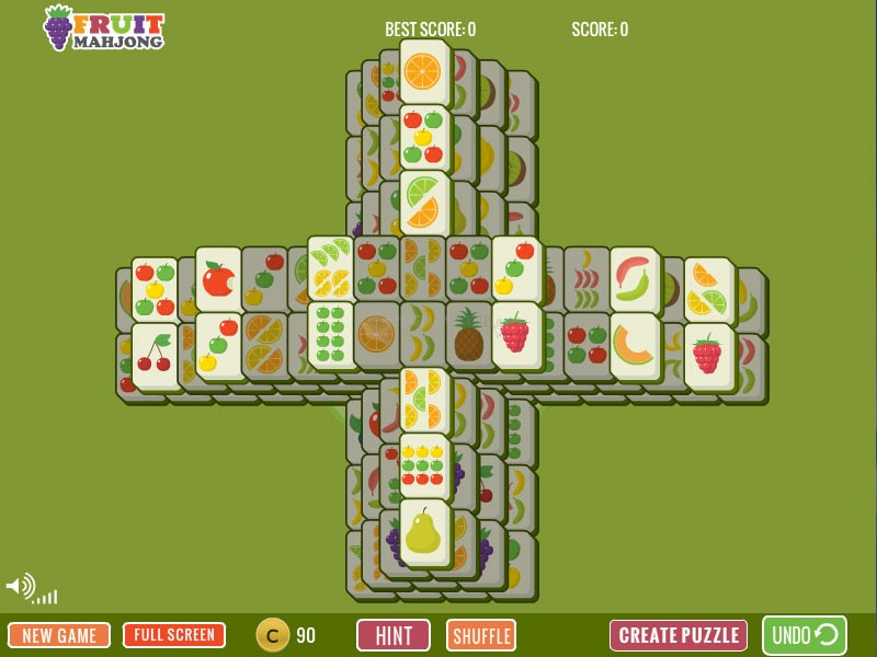 Pantallazo Fruit Plus Mahjong