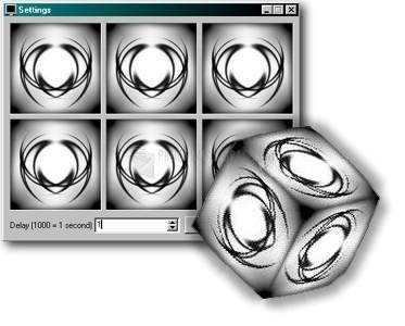 Pantallazo SLX 3D Cube Screensaver