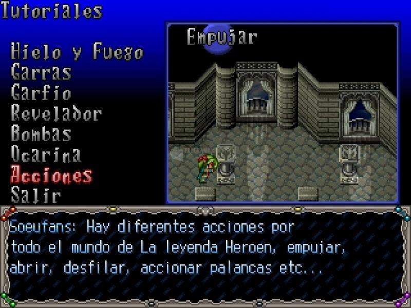 Pantallazo La Leyenda Heroen