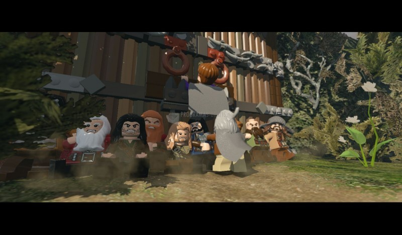 Pantallazo Lego The Hobbit