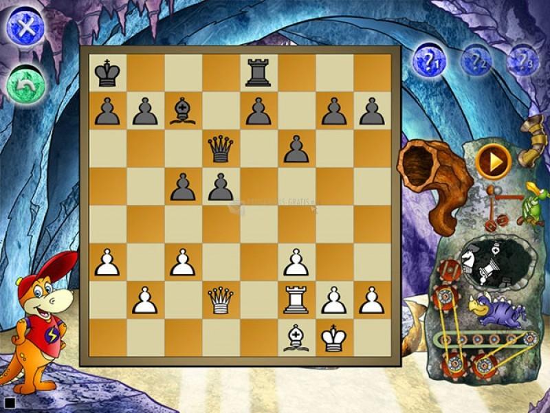Pantallazo Dinosaur Chess