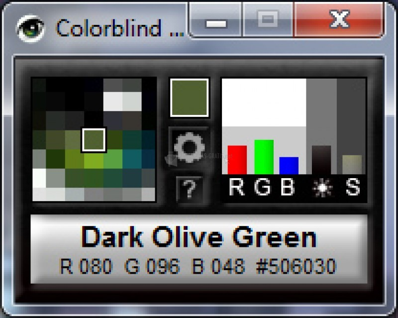 Pantallazo Colorblind Assistant