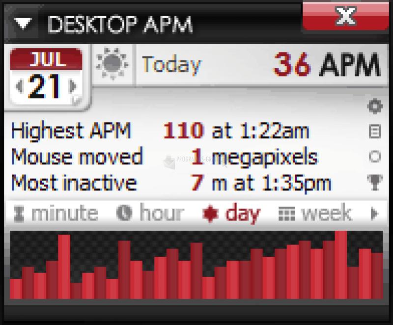 Pantallazo Desktop APM