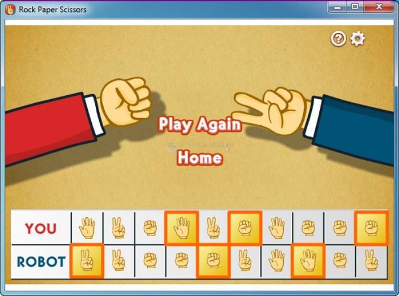 Pantallazo Multiplayer Rock Paper Scissors