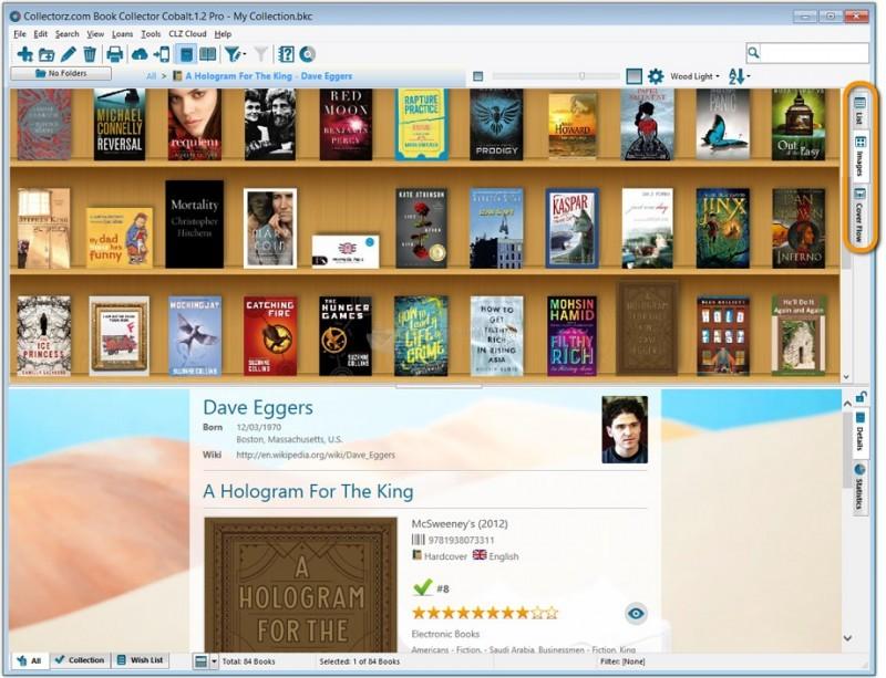 Pantallazo Collectorz.com Book Collector