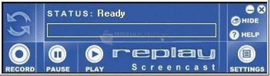 Pantallazo Replay Screencast