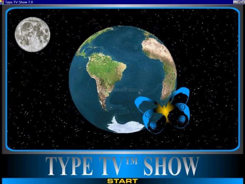 Pantallazo Type TV Show