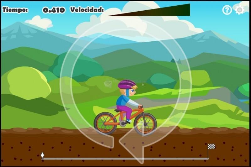Pantallazo Carrera de Ciclocross