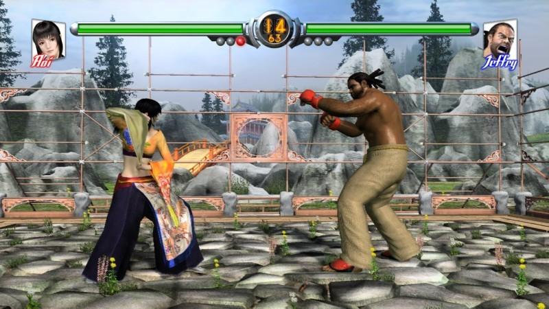 Pantallazo Virtua Fighter 5 Screensaver