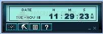 Pantallazo Music Alarm Clock