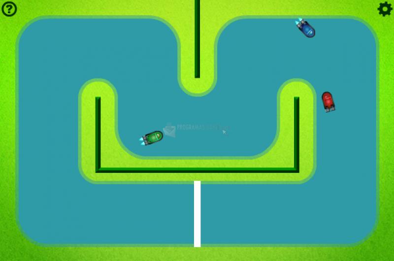 Pantallazo Hovercraft Racing