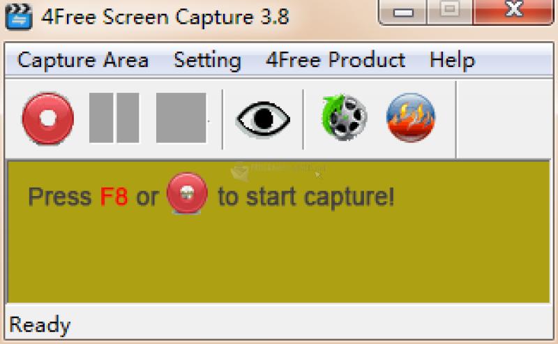 Pantallazo 4Free Screen Capture