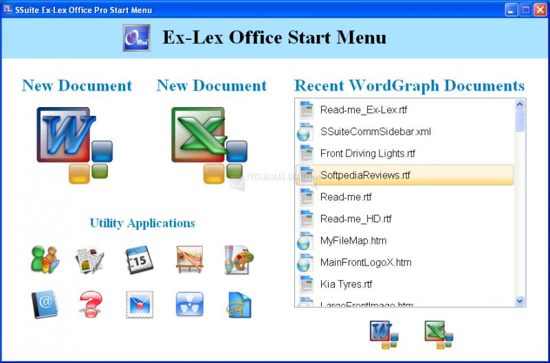 Pantallazo SSuite Ex-Lex Office Pro