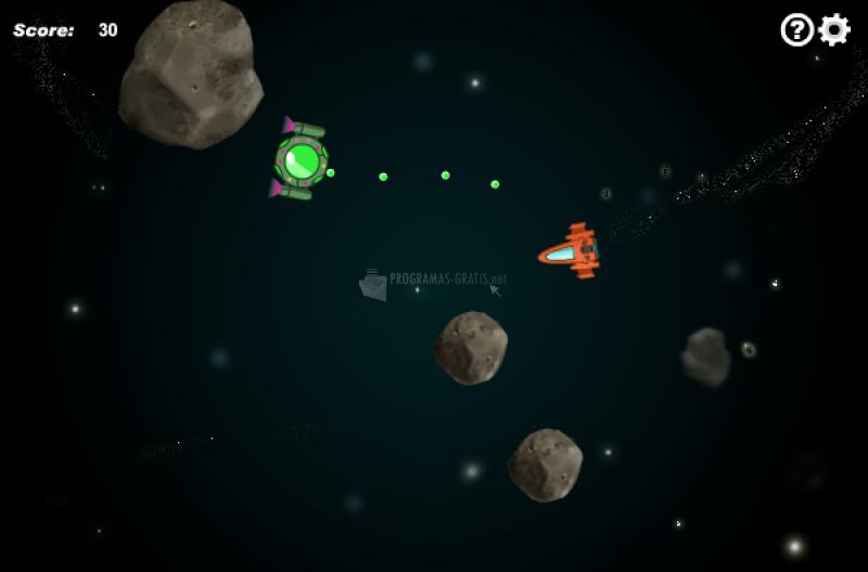 Pantallazo Novelgames Asteroids