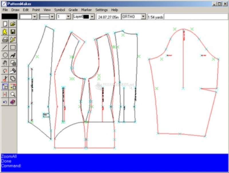 Pantallazo PatterMaker Deluxe Editor