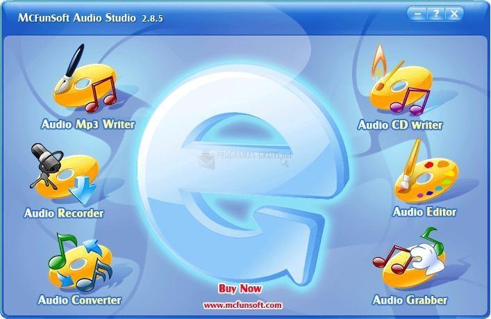 Pantallazo McFunSoft Audio Studio