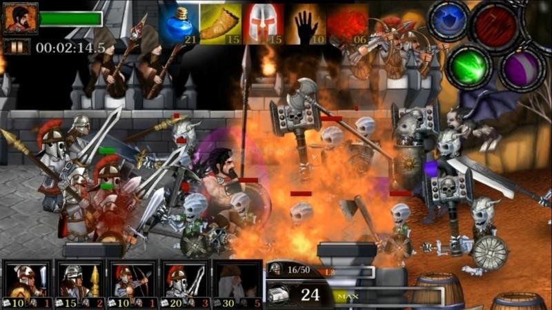 Pantallazo Spartans Vs Zombies Defense